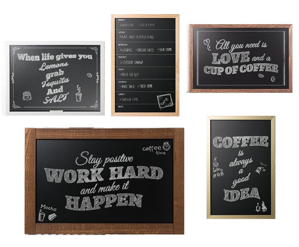 Tips gallery chalkboards